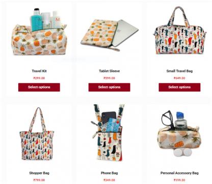 bags catalog